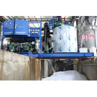 10tons/day flake ice machine for fishery and meat process and concrete factory