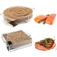 Cold Smoke Generator Charcoal Barbecue Grill Cooking Tools