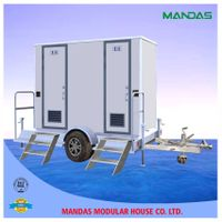 portable trailer toilet