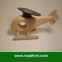 solar power toy,solar airplane,solar helicopter toy,solar educational toy,wooden airplane,wooden toy