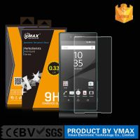 New! for SONY Xperia Premium 9H 0.33MM 2.5D Asahi Tempered Glass Screen Protector Free Sample