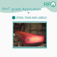 Waterproof High Temperature Resistant Steel Labels Raw Materials