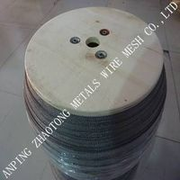 gas-liquid filter mesh/knitted wire  mesh