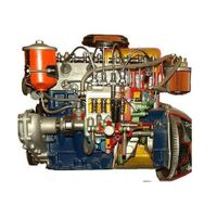 4 Stroke 6 Cylinder Diesel Engine ( Motor Driven Actual Cut-Sectional ) thumbnail image