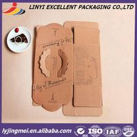 Cheap price kraft paper box for bread packing