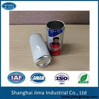 250ml empty aluminum easy open cans for drinks, juice, beer