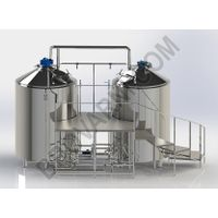 Micro-brewery for production 1300-1900 liters of beer per day