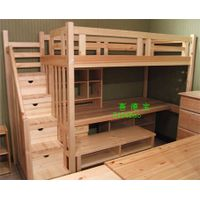 wooden child bed thumbnail image