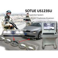 Car explosives / car bomb detector, vehicle underside inspection system, under vehicle search mirror