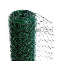 Pvc Coated Hexagonal Wire Nettingpvc coated hexagonal wire mesh thumbnail image