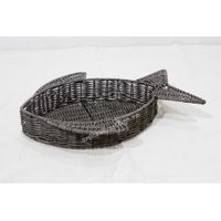 Best selling poly rattan animal basket - CH4082A-1DGY thumbnail image