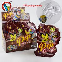1g 5pcs Magic Popping Candy With A Toy Card