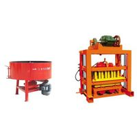 semi-automatic QT4-40 concrete brick making machine