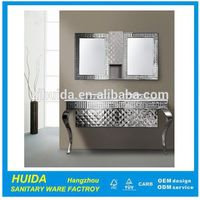 High Grade Luxury Stainless Steel bathroom Cabinet