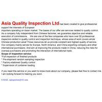 Pre-shipment Inspection thumbnail image