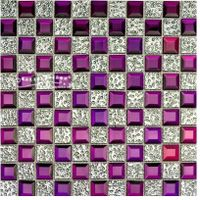 Mirror Crystle Glass Mosaic Tile