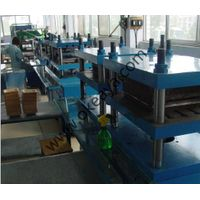 Disposable wooden dish making machine