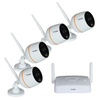 4CH 1080P H.264 MINI WIRELESS Surveillance KIT