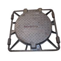 B125/C250/D400 850*850 Round ductile iron covers