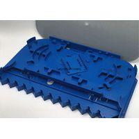 Plastic 12 Core Standard Fiber Optic Accessory Splice Tray For FTTH CE Certification thumbnail image