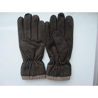 man's nubuck gloves