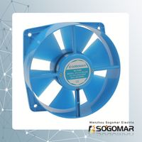 axial fan/ ventilation 200x210x71mm with plastic blades