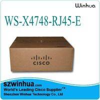 Brand New Cisco Catalyst 4500 E-Series WS-X4648-RJ45V+E Linecards