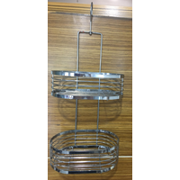 Bathroom Product Holder Shower Shelves, Towel Rack with Hanging Organizer,metal wire shower caddy