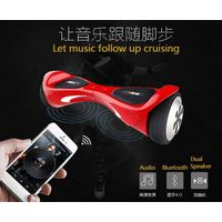 2016 New Design Smart Balance Electric Scooter, With Bluetooth Speaker Self Balancing Hoverboard