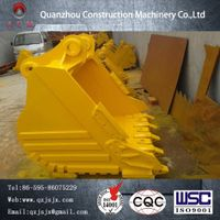 2017 China Supplier Heavy Equipment Excavator Replacement Parts Bucket