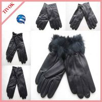 Ladies Fashion PC Leather Glove with TR Lining On Sale