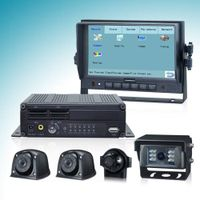 Touch Control DVR System With H.264 Digital Video Recorder