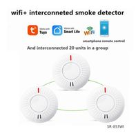 wifi+interconnected photoelectric smoke alarms (SR-853W(I))
