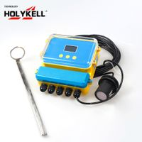 Open channel water ultrasonic flow meter