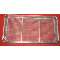 Sterilization stainless steel wire mesh tray and basket thumbnail image