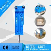 BLTB135 top type demolition breaker HB20G type hydraulic breaker