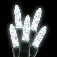 35 LED Mini Ice (M5) Warm White String Lights thumbnail image