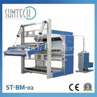 ST-BM-02 PLC Control Cheap Fabric Rolling Machine