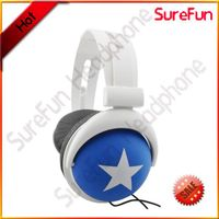 Custom Logo Headphone Stereo Effect Popular design