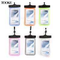 Tooke Waterproof Bag Cell Phone Bag for Iphone 4s / 5s size under 5.8 inch