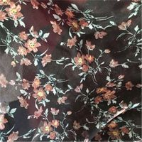 Polyester Voile Printed Fabric