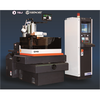 Wire EDM machine Reuse molybdenum wire multiple pass cutting CNC QD Series 350x400 taper or degree c
