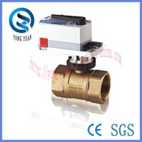 Proportional Integral Electric Ball Valve Motorized Valve