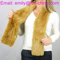 Most Fashion Rex Rabbit Fur Scarf