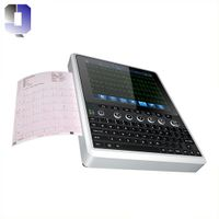 JQ-MAC120 Most cost-effective 12 channel ECG Print A4 report by USB connecting printer with CE thumbnail image