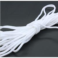 Round 3mm Earloop White color Elastic earloop Elastic band Ear ite Ear string
