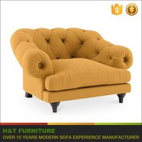 2017 Latest Sofa Design Antique Chesterfeild Sofa Modern Fabric Loveseat Sofa With Roll Arm F628