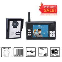 2.4GHz wireless video door phone