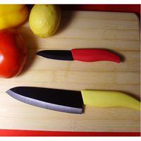 4inch Color kyocera Handle White Black Mirror Surface Fillet Kyocera Ceramic Knife thumbnail image