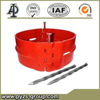 Stop collar for bow type non-welded centralizer